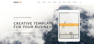 Download IMAGO One Page WordPress Themes