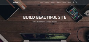 Download METEORS Satu Halaman WordPress Themes