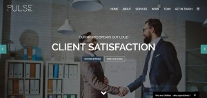 Download PULSE Business WordPress Themes