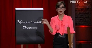 Foto Profil Hesti Purwadinata Presenter Tonight Show NET TV