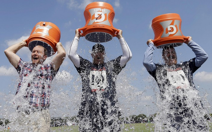 Video Ice Bucket Challenge Artis Pemain Sepak Bola Dunia