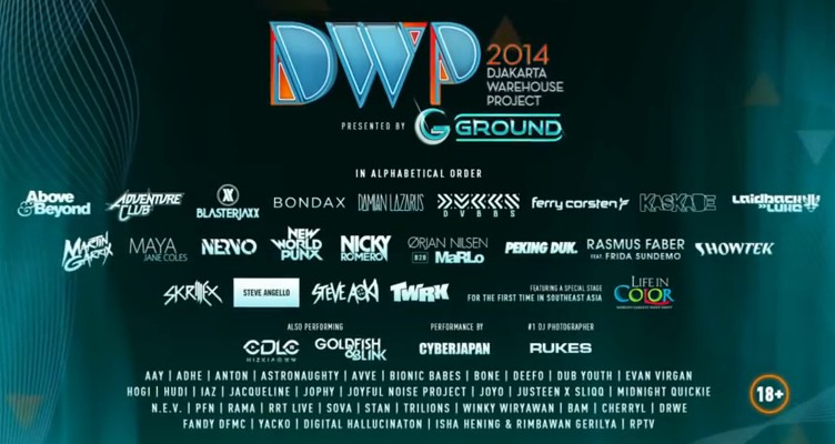Video DJ Nicky Romero DWP 2014 Djakarta Warehouse Project di JIExpo Jakarta