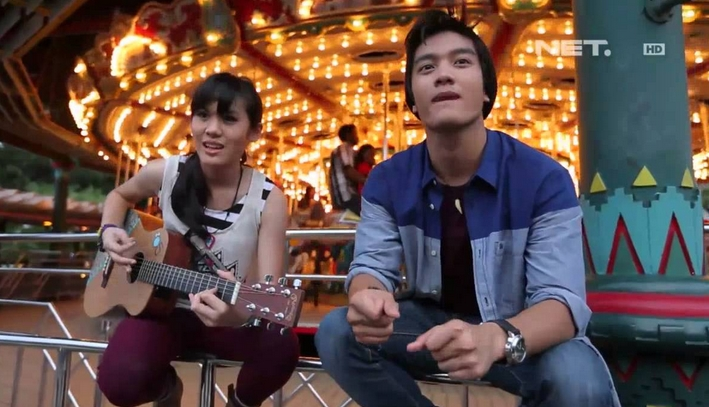 Foto Profil Biodata Sheryl Sheinafia dan Boy William Breakout NET TV