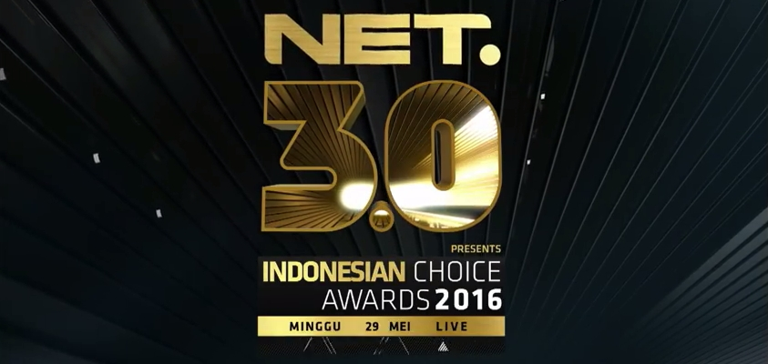 Video Iklan NET 3.0 TV Mashup Indonesian Choice Awards 2016 #IndonesiaLebihKece